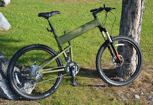 Paratrooper Bike Lite